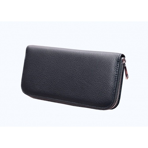 Blue Navy Leather Wallet