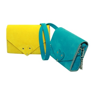 yellow and turquoise baby