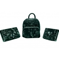 Arround The World Printed Natural Leather Handmade Bag Carmenittta