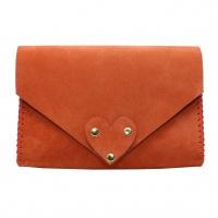 Living Coral Natural Leather Handmade Bag Camenittta
