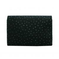 Stars Printed Suede Leather Handmade Bag