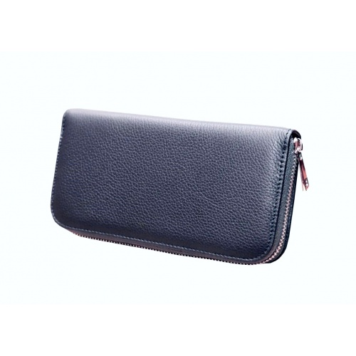 NavyBlue Leather Wallet