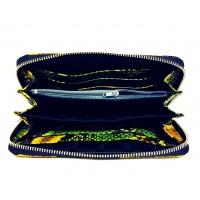 Snakeprint Leather Wallet