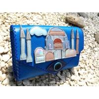 Hagia Sophia Istanbul Arhitecture Handsewn Leather Bag